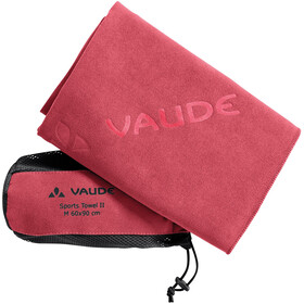 VAUDE Sports II Towel L, flame